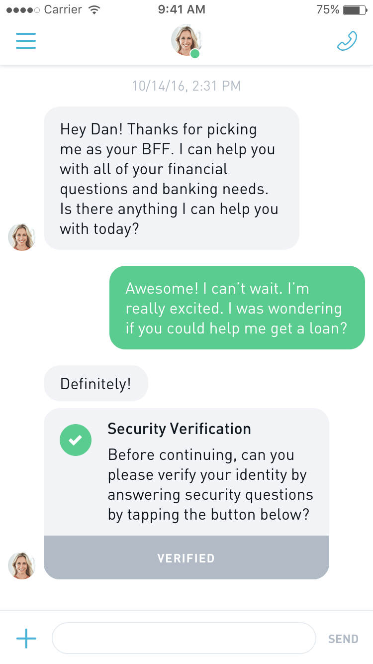 BFF Authentication Widget