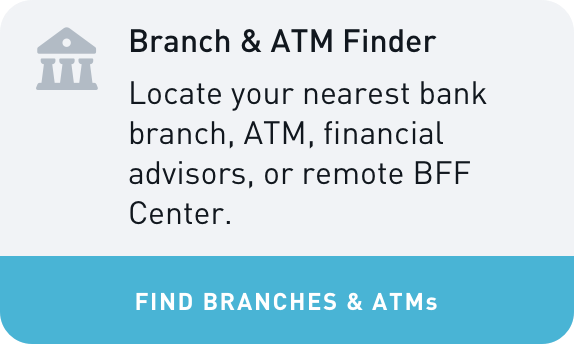 BFF Branch & ATM Finder Widget