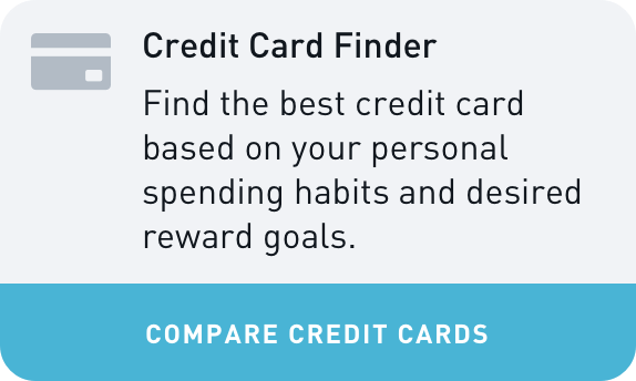 Credit Card Finder Widget