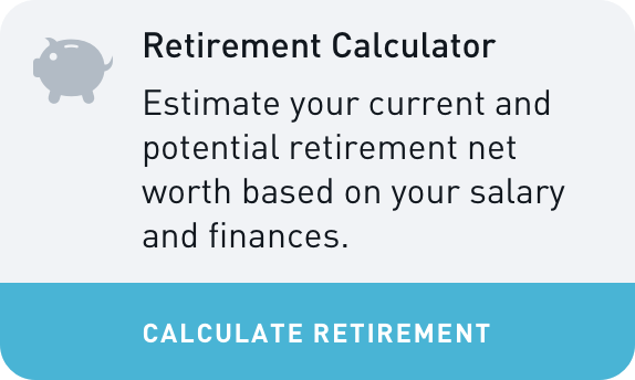 BFF Retirement Calculator Widget