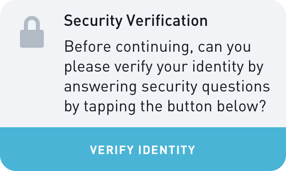 BFF Security Verification Widget