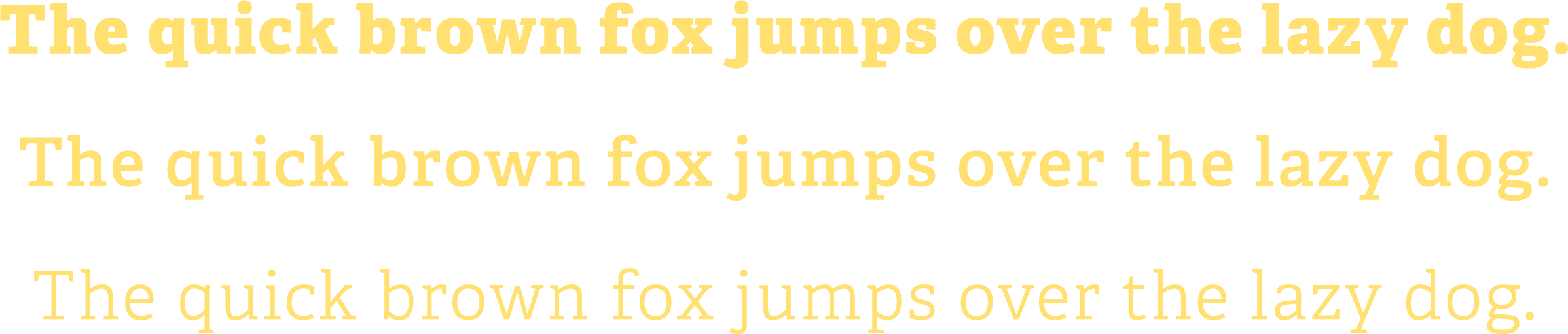 Exploring type for Webdesigner Depot